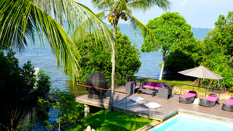 Villa Hundira Level One Lodge to Quarantine in is  a paradise that will make 14 days vanish in a flash