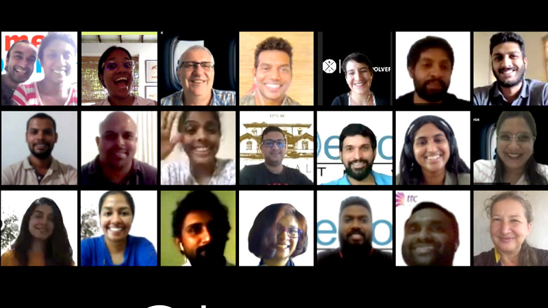 Virtual meeting featuring the ten short-listed candidates of the GLX Digital Evolver program.