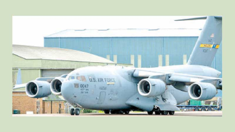 The C-17 was the star of the airlift.