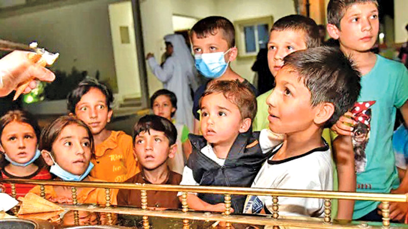 UNICEF along with its partner agencies have been involved in registering the evacuees who have been airlifted out of Kabul since August 14.