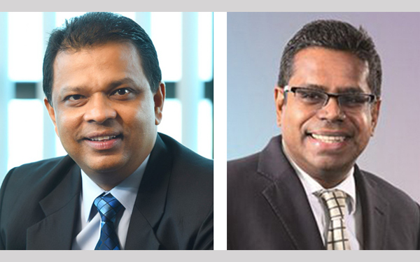 ABA Chairman and HNB CEO/MD Jonathan Alles and ABA Policy Advocacy Committee Chairman and HNB COO Dilshan Rodrigo
