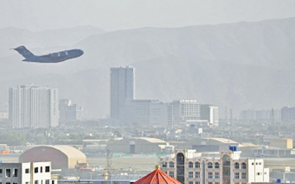 One of the last US evacuation flights leaves Kabul just before the Taliban takeover.