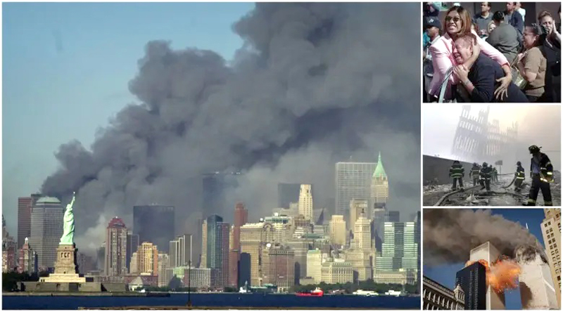 Photos that depict the horror of the 9/11 attacks.