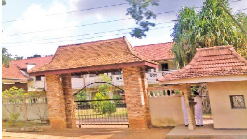 Sri Sumangala College has a long history of over 140 years.