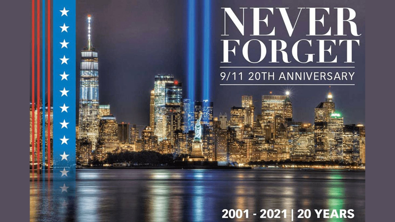 The 20th anniversary of 9/11 attacks fell on Saturday.