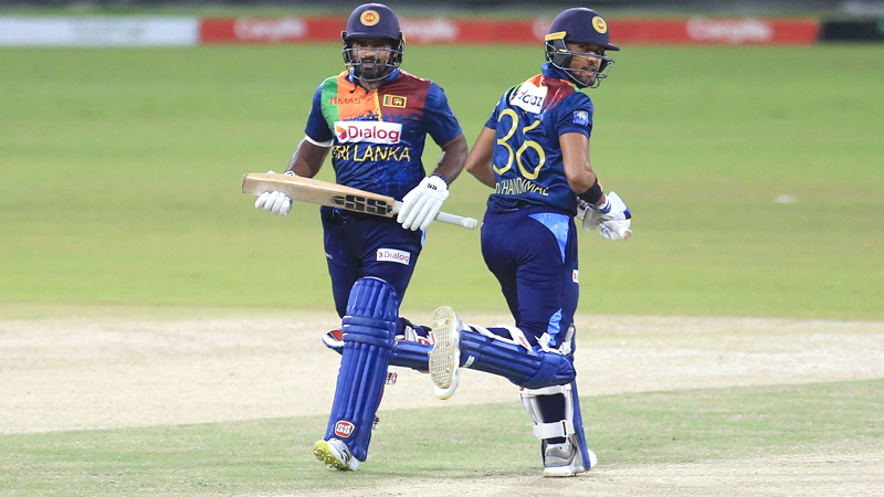 Kusal Perera and Dinesh Chandimal need to fire in the third T20I  Pic curtesy SLC
