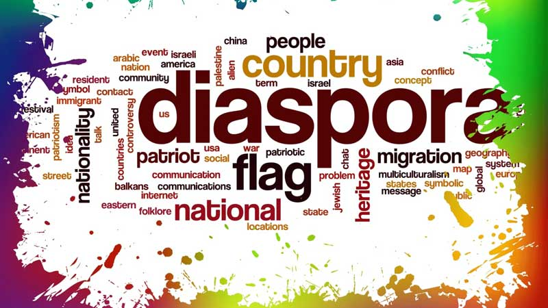Diaspora can mean many things to many people.
