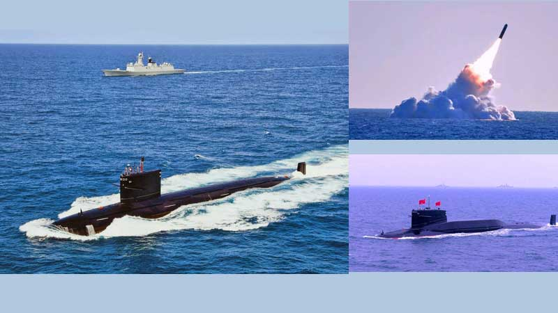 Type 093 Shang class submarine-Chinese submarine-Julang-3 missile fired from the sea
