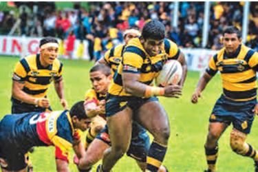 An incident in a  Bradby Shield encounter between Royal and Trinity