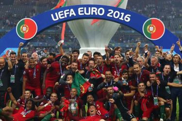 Portugal are the holders after beating France in the final of Euro 2016