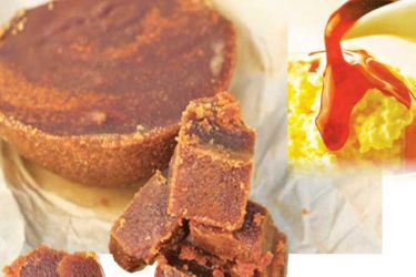 Kithul syrup can also be turned into jaggery-Kithul is ideal with ice cream too