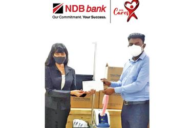 NDB making the donation of 'Optiflow Nasal Oxygen Delivering System' to IDH hospital