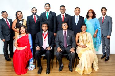 Nandika Buddhipala - Chairman Member Network Panel ACCA Sri Lanka with the committee for the year 2021/ 2022