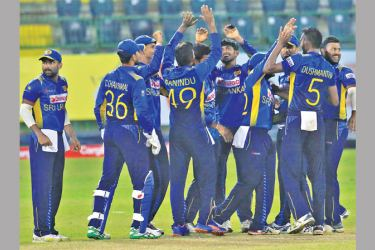 Sri Lanka will play two warm-up T20 matches against Oman. Pic courtesy SLC