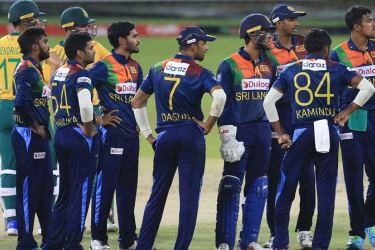 South Africa have left Sri Lanka with several worry lines Pic courtesy SLC