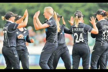 New Zealand played their third One Day International in Leicester yesterday