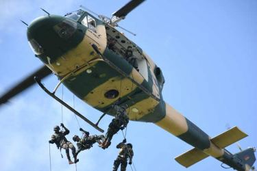 """The No 7 Helicopter Squadron also known as the """"Cradle of Helicopter Pilots."""""""