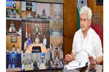 Strengthen health infrastructure with focus on pediatric care units, ensure intensive testing: J-K LG directs officials at COVID review meeting