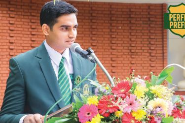 Speech from the newly appointed Head Boy