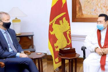 Founder of New Fortress Energy and its CEO Wes Edens called on Prime Minister Mahinda Rajapaksa in January to discuss investment opportunities in Sri Lanka.