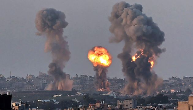Clashes between Israel and the Palestinians in Gaza.