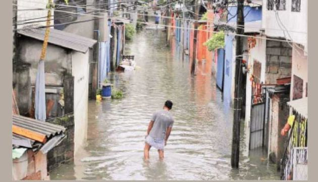 Several areas in the Galle District have gone under water after heavy rains.
