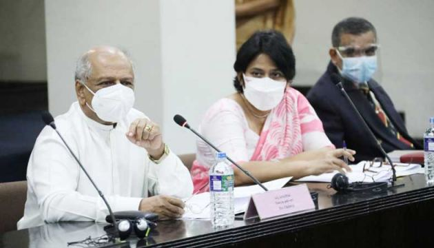 The Select Committee of Parliament met on Tuesday under the Chairmanship of Leader of the House, Minister Dinesh Gunawardena.