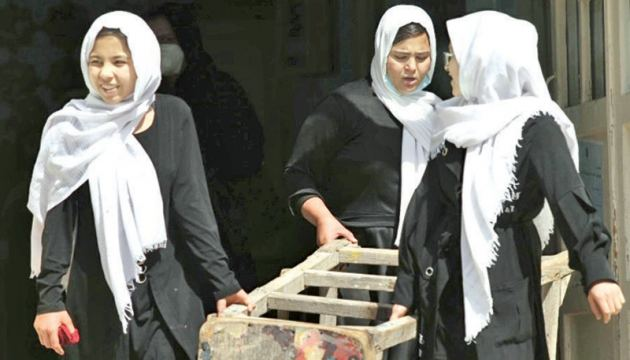 More than 2.2 million Afghan girls were unable to attend school as recently as last year.