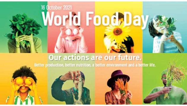 World Food Day falls today