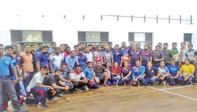 The participants in the Level 1 boxing course