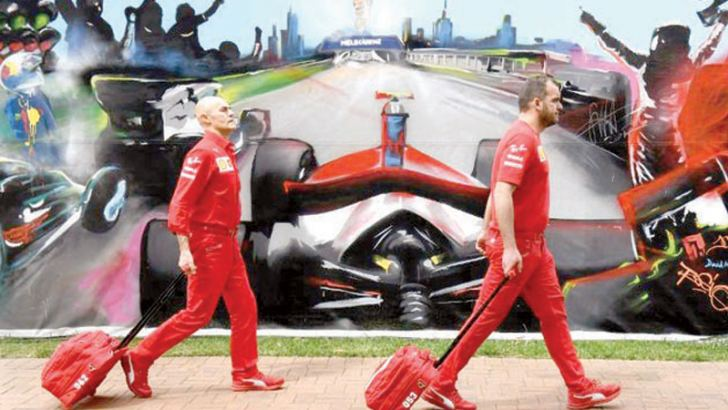 Formula One's Australian Grand Prix was cancelled on Friday.