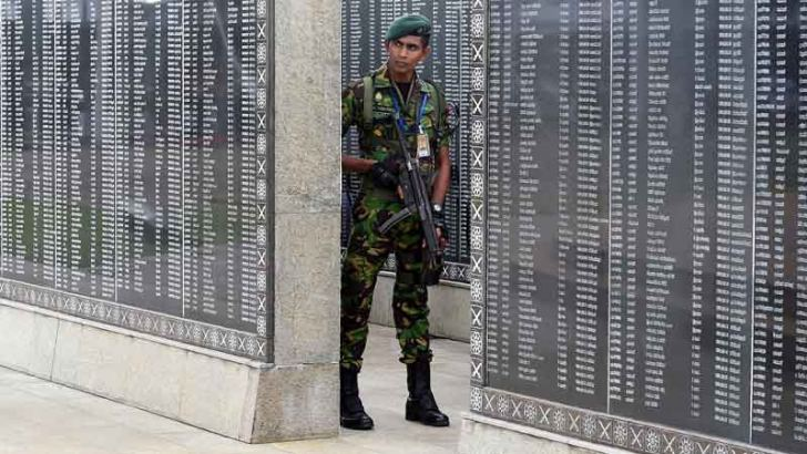 Names of fallen heroes etched at the War Memorial