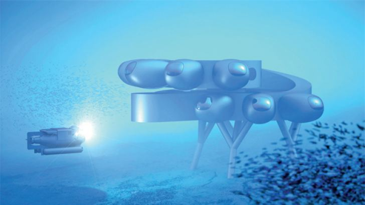 Proteus, the world's most advanced underwater research station and habitat