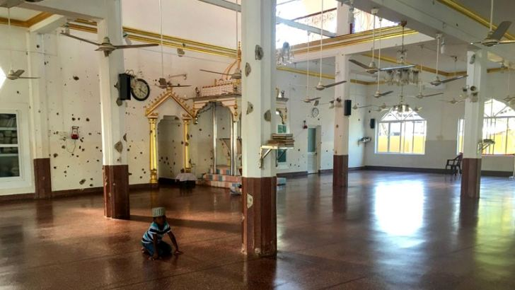 One of the mosques attacked by the LTTE in Kattankudy