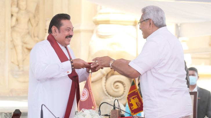 Mahinda Rajapaksa was sworn in as the Prime Minister after the Sri Lanka Podujana Peramuna (SLPP) achieved a landslide victory at the General Election 2020 securing 145 seats in Parliament.