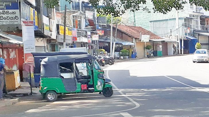 Matale during the lockdown.