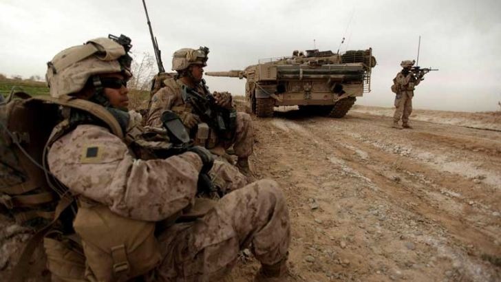 US troops stayed in Afghanistan for 20 years.