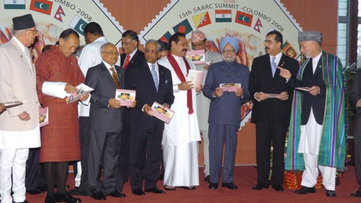 The 15th SAARC Summit was held in Colombo in 2008.