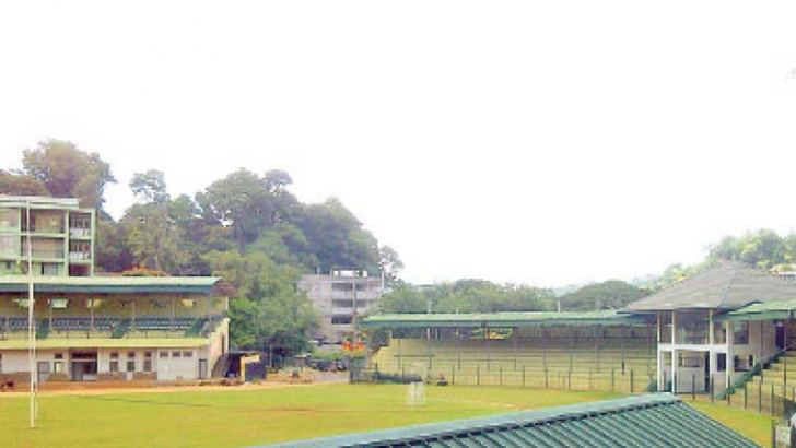 The first unofficial Test was played at the Bogambara Grounds