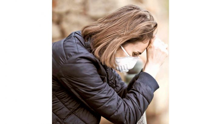 People with physical symptoms of COVID-19 infection often screen positive for depression, as symptoms of infection often overlap with symptoms of depression.