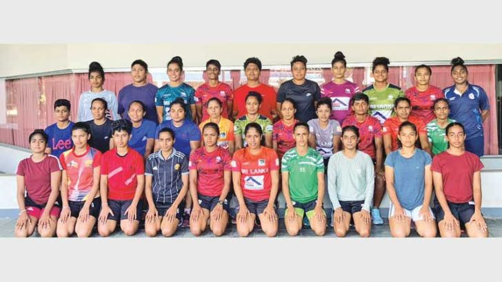 The Sri Lanka women's pool of 32 players for the Asian Rugby Sevens Tournament