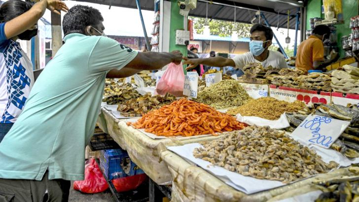 There is no food crisis in Sri Lanka.